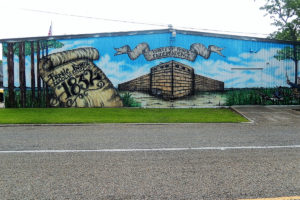 Fort Anahuac Mural